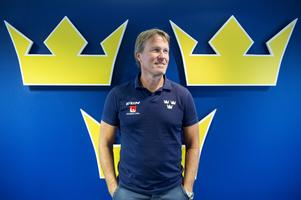 Johan Garpenlöv, förbundskapten för Ishockey-landslaget Tre kronor. Foto Henrik Montgomery/TT.