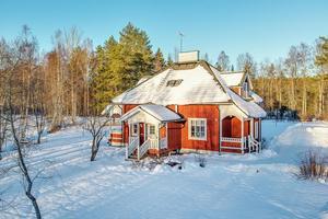 Denna villa i Nyhammar, Ludvika kommun, fick 5 621 klick på Hemnet under förra veckan, vilket gav en fjärdeplats på Dalarnas Klicktoppen under vecka 8. Carina Heed