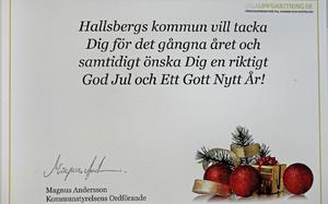 Denna jul fick alla anställda i  Hallsbergs kommun ett gåvokort värt cirka 200 kronor i julklapp. Några chefer har dock gått sin egen väg och köpt julbord för flera tusen kronor för kommunens pengar.