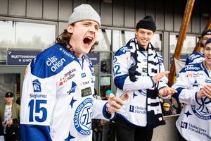 Johan Porsberger fick lämna Leksand efter avancemanget till SHL. Foto: Daniel Eriksson/Bildbyrån