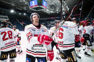 Kalle Olsson vill stanna i Örebro Hockey. Bild: Andreas Sandström/Bildbyrån