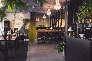 Interiör från nya restaurangdelen på Interpool. Bild: Robin Lundin.