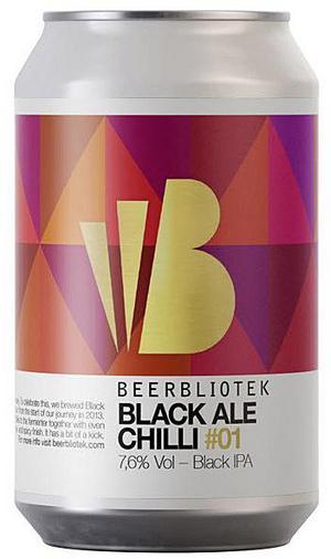 Beerbliotek Black Ale Chilli.