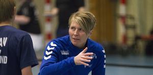 Fia Strömgren, ordförande i Sandvikens Badmintonklubb.