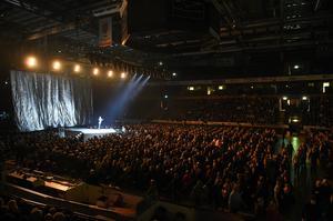 Cirka 3500 personer var på plats under Vintergalan.