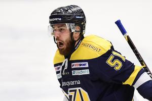 Zanetti i HV-tröjan. Nu lämnar han SHL för KHL.