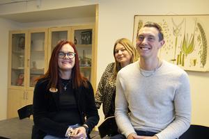 Monica Östlund Hedberg, Terese Källänge och Joel Jansson jobbar alla på Alirskolan i Bollnäs.