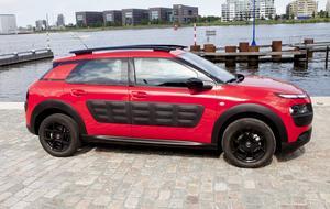I Citroëns nya Cactus sitter en liten trecylindrig bensinmotor med ett lågt CO2-utsläpp.
