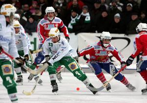 Hammarby körde över Västanfors 2004. 12–3-segern står sig fortfarande som en av 2000-talets största segrar. FOTO: Jonas Ekströmer