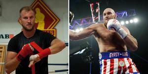 Otto Wallin ser ut att möta världsstjärnan Tyson Fury nästa match. Foto: TT.