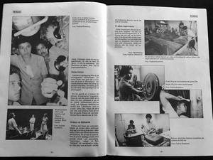 Reportage i Folkets Bio-Bladet om arbetet med att restaurera Managuas biografer efter inbördeskriget i Nicaragua.