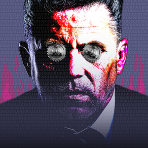 Så här ser affischen för turnén Welcome To The Machine ut. Bild: Pressbild.