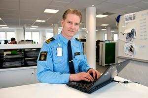 Josef Wiklund, chef för lokalpolisområde Medelpad.