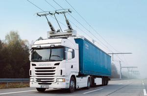 Eldrivna lastbilar är inget som imponerar på skribenterna. Foto: Scania