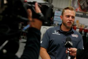 Taylor Kiel tog över som general manager för SPM så sent som för en vecka sedan. Foto: Schmidt Peterson Motorsports