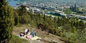 Norra stadsberget. Detta stadsnära naturområde är en oas för stressade stadsbor – här finns även mycket kulturhistoria.