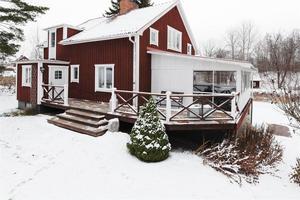 En femrumsvilla på Åsgatan i Hedemora hamnade på plats fem på  Klicktoppen för vecka 48, när det gäller objekten från Dalarna.Foto: Emelie Wahlund