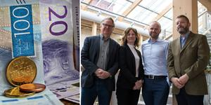 Vinnova delar ut sammanlagt sex miljoner kronor till Bolagsverket och Biometria i Sundsvall.