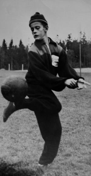 1955 och en 13-årig Sune Hedqvist