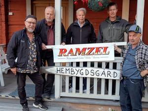 Tryggve, Stefan, Sven-Åke, Totte och Nisse