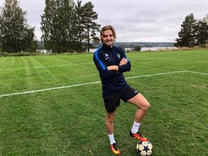 Oscar Andersson har fått tillbaka fotbollsglädjen i Tällberg.