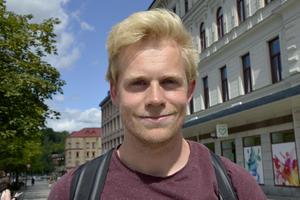 Nils Omholt, 28, ingenjör, Oslo: