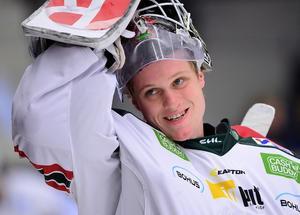 Lars Johansson började i Mora IK. Nu är han, efter spel i Frölunda, klar för Chicago.