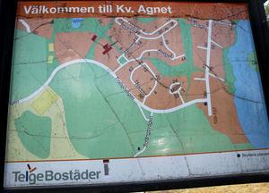 Det är grönområdet till höger om Solängsvägen som kan bli en tänkbar ny plats för bostadsexploatering om Telge bostäder får bestämma.