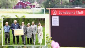 Bjursås Sparbank stöttar Sundborns GoIF. Samtidigt är landsbygdsföreningen bara en av många projekt som banken stöttar i Falu kommun.