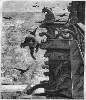 Giovanni Battista Piranesis mörka bildvärld återfinner vi i Victor Hugos romaner, som klassikern