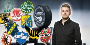 Andreas Hanson rankar varje söndag de hockeyallsvenska lagen utifrån deras lagbyggen hittills.