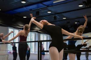 Marika Renhuvud har dansat sedan tioårsåldern. Foto: Naina Helén Jåma