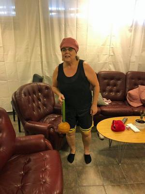 Tina Spers i rollen som