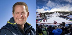 Foto; TT Ola Strömberg och VM i fjol i Åre