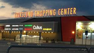 Erikslund shoppingcenter.