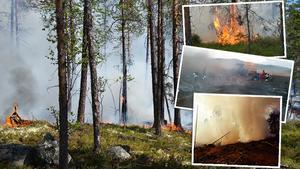 Fotomontage: Räddningstjänsten Jämtland