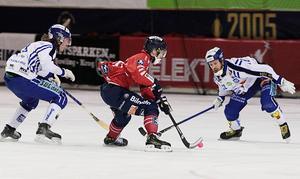 Tuomas Määtää gjorde 5-4 till Edsbyn direkt efter en timeout.
