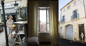 För en inredare är de många marknaderna i Frankrike naturligtvis en dröm. Där hittar Lise-Lott perfekta detaljer både till sin egen franska borg och andras.