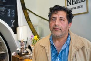 Abdullah Fani startar konditori i Need coffeeshops gamla lokaler.