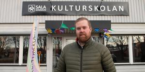 Peter Fredriksson är kulturskolechef i Sala.