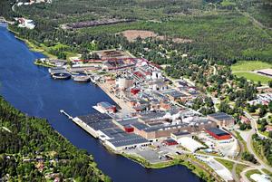Holmen paper,  Norrtäljes största privata arbetsgivare har annonserat på många arbetsmarknads mässor hela året. Arkivfoto