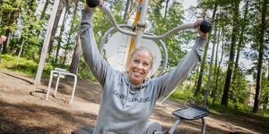 """""""Sätt realistiska mål"""", är ett av Carolin Larssons råd till dig som vill komma igång med träningen efter semestern."""