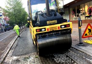 Under två veckor flyttas busstrafiken från Stationsgatan.