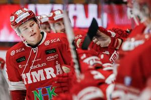 Filip Westerlund jublar efter 3-2 målet i mötet med Djurgården. Bild: Mats Andersson/BILDBYRÅN