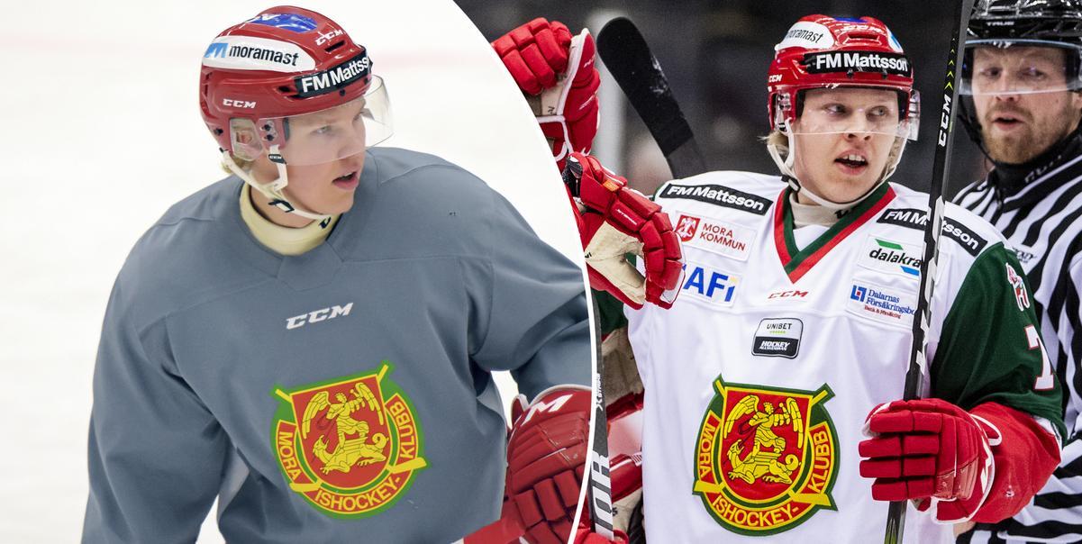 19-årige backen börjar hitta rätt i MIK – nu gör sig Jonathan Granström redo för nästa steg: