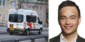 Tomas Hansson blir ny vd för Samtrans efter Jan Bovaeus. Porträttbild: Johan Töpel