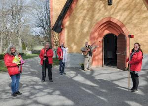 Nina Åkerlind, Allan Willny, Johan Demarkesse, Peter Mourath och Anki Holmstén. Foto: Alex Giakomini/Ikon