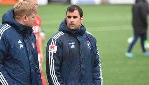 Sercan Yilmaz, nöjd KIK-tränare.