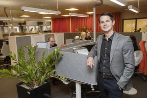 Pensionsmyndighetens produktionsområdeschef för kundmöte, Pär Hedén.