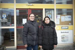 Anna Norvell och Sara, som inte vill att efternamnet publiceras på grund av skyddad identitet, ska leda den internationella kvinnodagens program på bio Royal i Kramfors.
